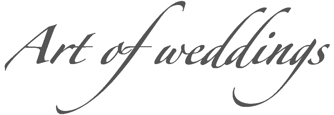 Mūsu Art Of Weddings Logo dark